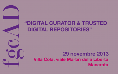 Digital Curator & Trusted Digital Repositories
