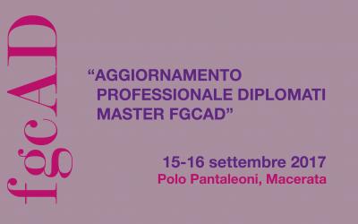 Aggiornamento professionale diplomati Master FGCAD