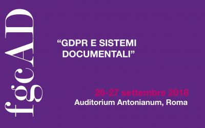 GDPR e sistemi documentali